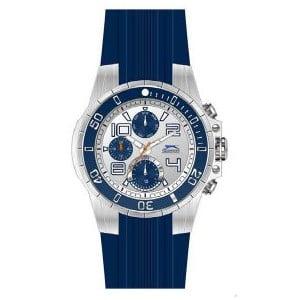 Pánské hodinky Slazenger Silver-Blue