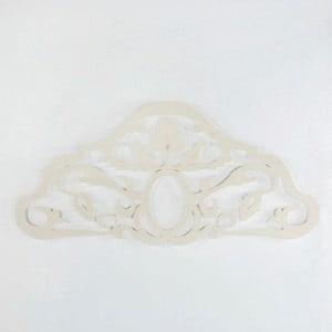 Bílé kovové čelo Thai Natura Sing, pro šířku 150 cm