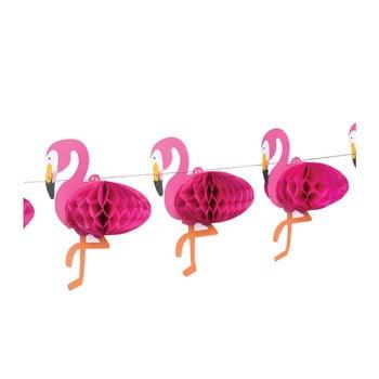 Ghirlandă Rex London Flamingo Honeycomb imagine