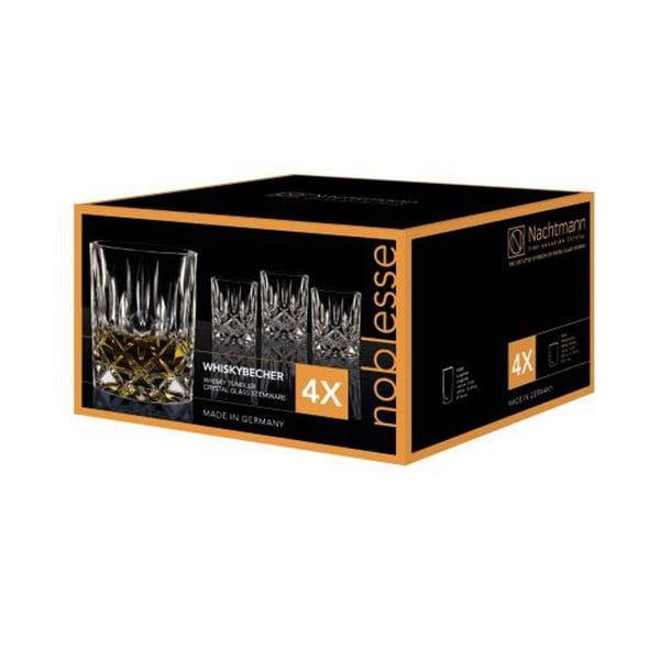 Set 4 pahare whisky din cristal Nachtmann Noblesse