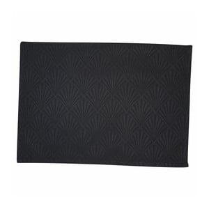 Suport textil pentru farfurie Green Gate Celine, 40 x 50 cm, negru
