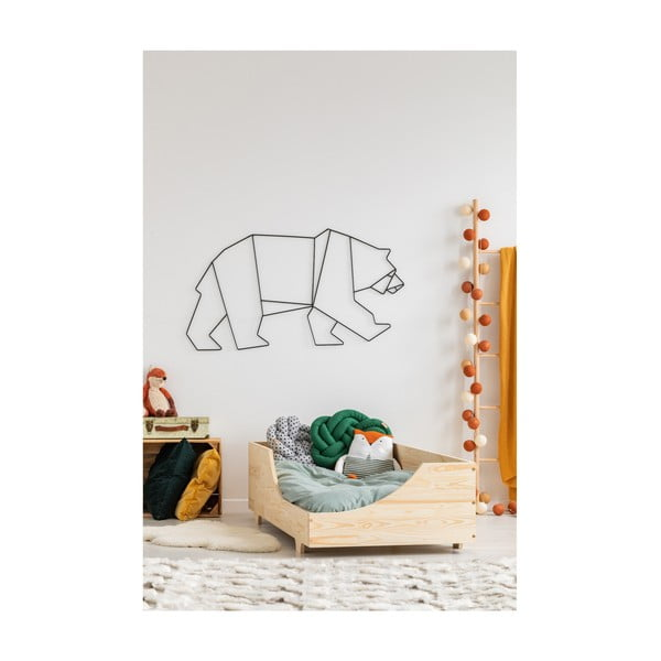 Dětská postel z borovicového dřeva Adeko Mila BOX 4,80x200cm