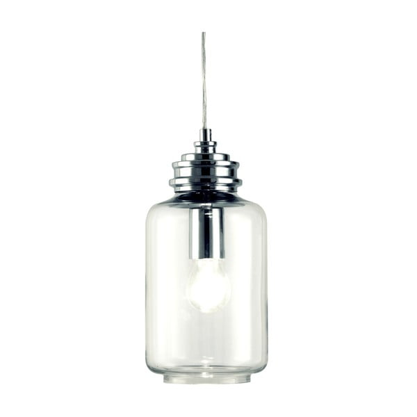 Závěsné svítidlo Scan Lamps Jar Silver