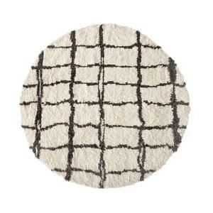 Vlněný koberec Linen Couture Elías, ⌀ 140 cm