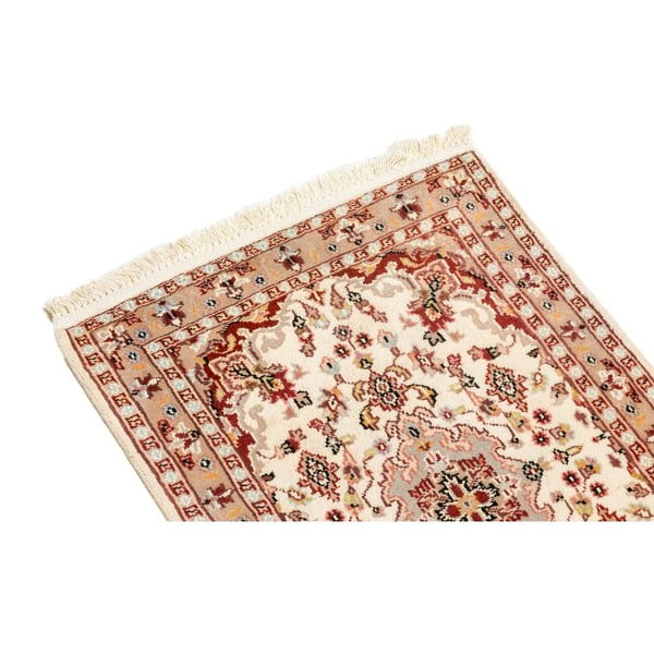 Ručně vázaný koberec Kashmirian, 90x59 cm