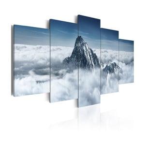Vícedílný obraz na plátně Bimago Peak, 100x200cm