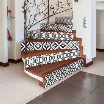 Set 2 autocolante pentru scări Ambiance Valkyrie, 15 x 105 cm imagine