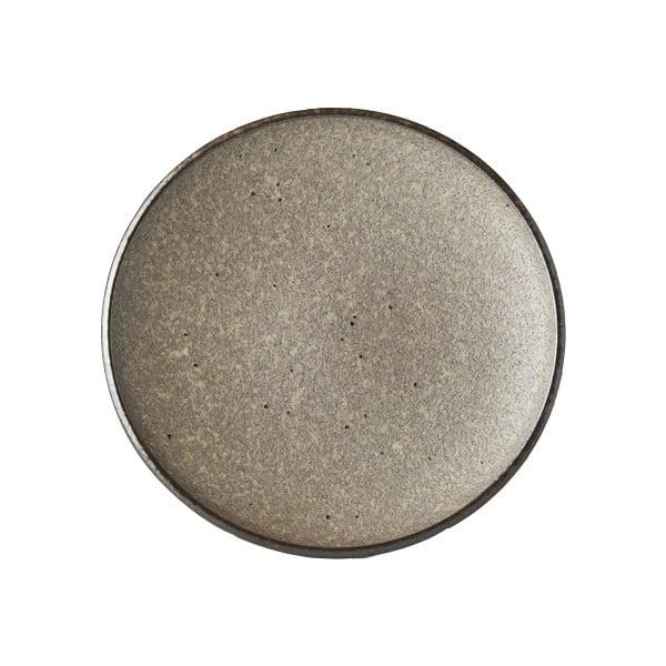 Farfurie din ceramică MIJ Earth,ø17cm, bej