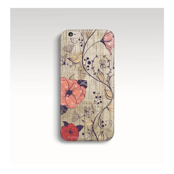 Obal na telefon Wood Floral pro iPhone 5/5S
