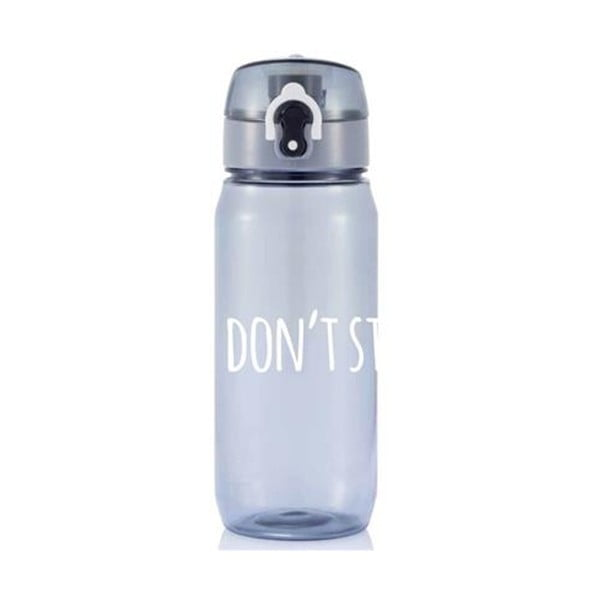Sticlă cu mesaj motivațional pentru sport XD Design Don't stop, 600 ml
