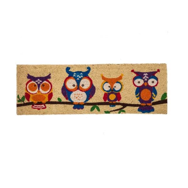 Rohožka před dveře z kokosového vlákna Unimasa Owls