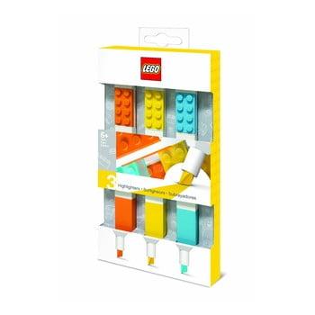 Set 3 markere LEGO® imagine