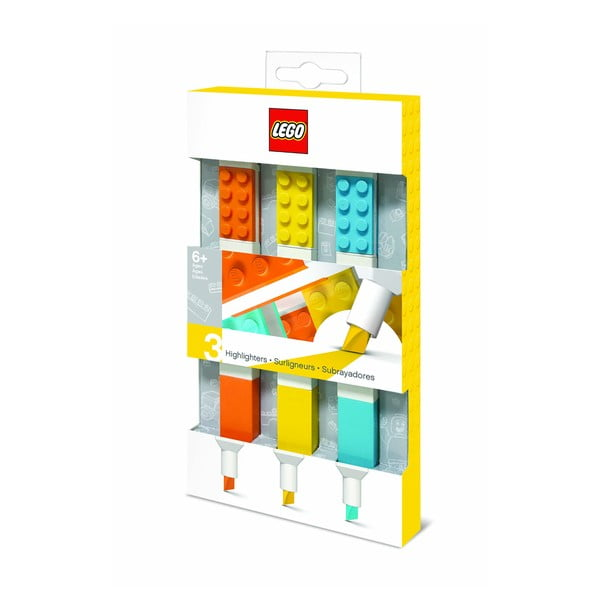 Set 3 markere LEGO®