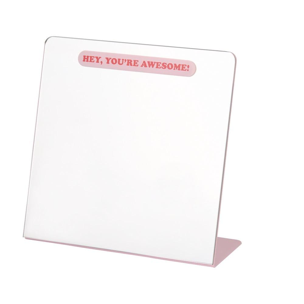 Stolní hrací zrcadlo DOIY Selflove, 23 x 22 cm