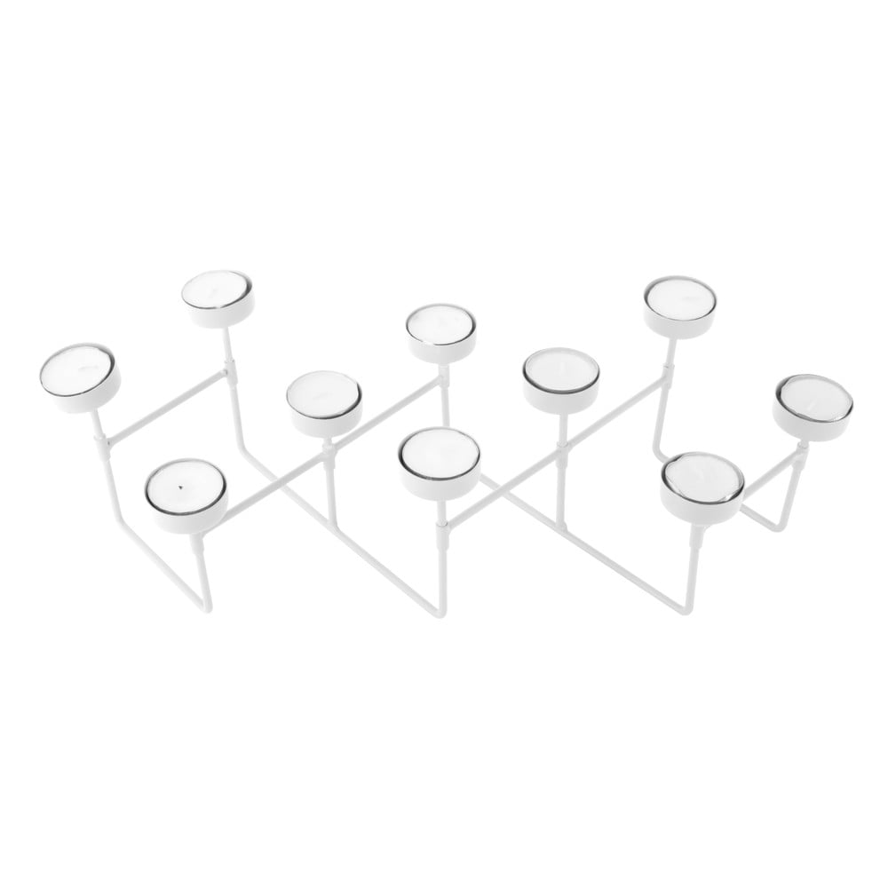 Bílý stojánek na čajové svíčky PT LIVING Harmonica