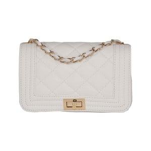 Bílá kabelka z pravé kůže Andrea Cardone Elena