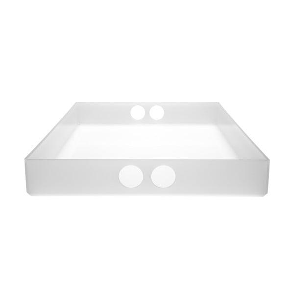 Podnos Tray White, 22x31 cm