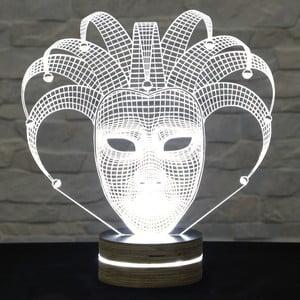 3D stolní lampa Glam Mask