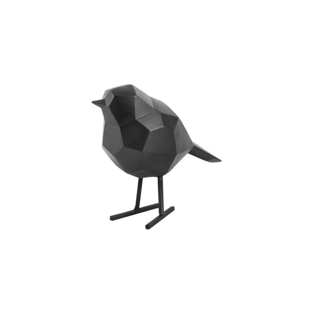 Černá dekorativní soška PT LIVING Bird Small Statue