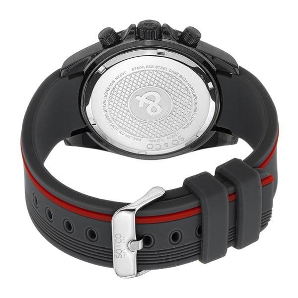 Pánské hodinky Monticello Time Red/Black