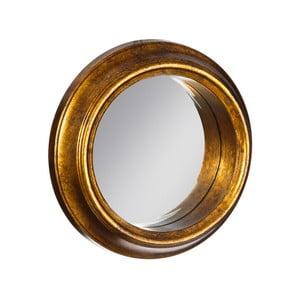 Oglindă Ixia Goldie, ⌀ 37 cm, auriu