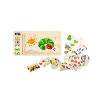 Puzzle din lemn pentru copii Legler The Very Hungry Caterpillar imagine