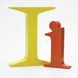 "Malé ""i"" 13x8 cm, oranžová"