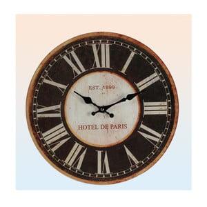 Nástěnné hodiny Hotel de Paris