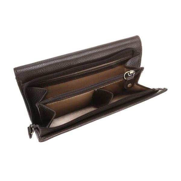 Dámská kožená peněženka Stroud Finest Natural Brown