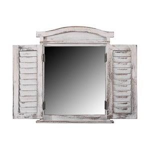 Zrcadlo Mendler Shabby White