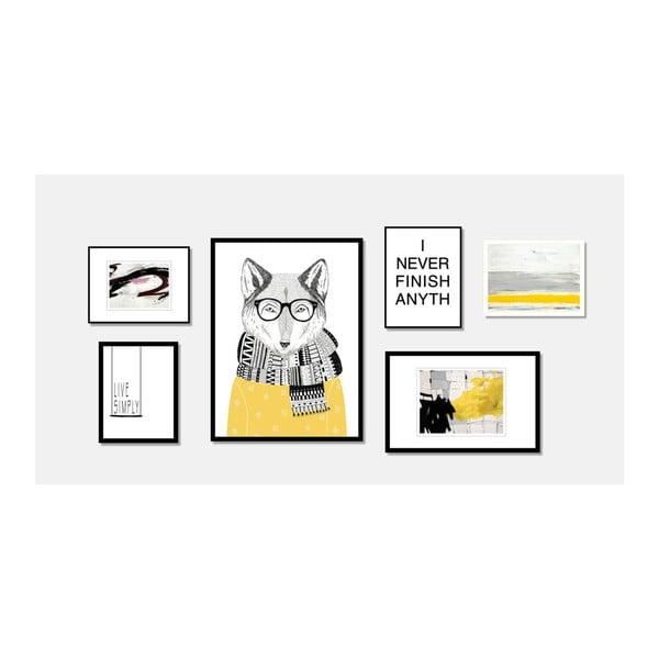 Obraz sømcasa Wolf, 60 x 80 cm