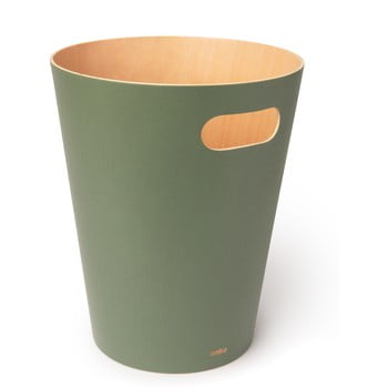 Coș de gunoi Umbra Woodrow, 7,5 l, verde imagine