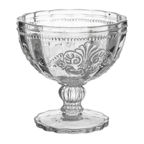 Skleněný pohár na zmrzlinu Unimasa Damasco, 215ml