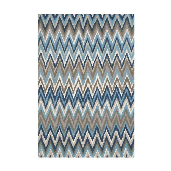 Modrý koberec Safavieh Lojento, 243 x 152 cm