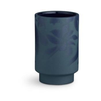 Vază din ceramică Kähler Design Kabell, înălțime 12,5 cm, albastru închis de la Kähler Design
