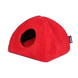 Kočičí pelíšek Milan Igloo, červený