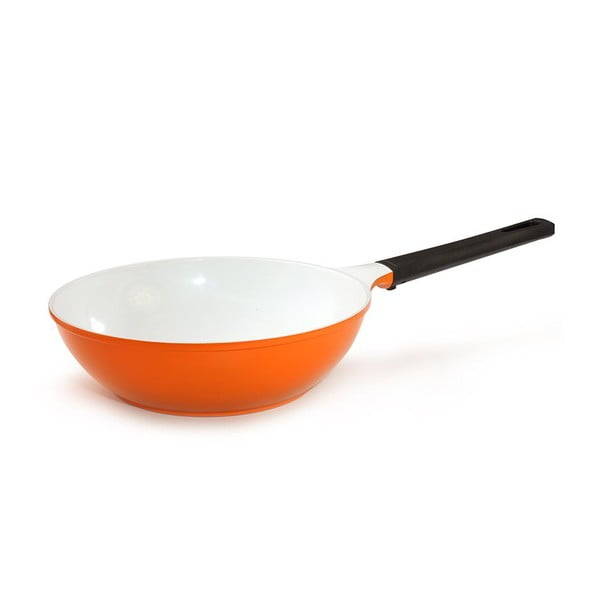 Keramická WOK pánev My Wok, oranžová
