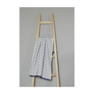 Šedý bavlněný ručník My Home Plus Spa, 50 x 90 cm