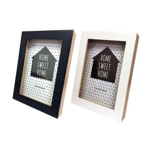 Sada 2 rámečků Maiko Black&White na fotografie,10x15cm