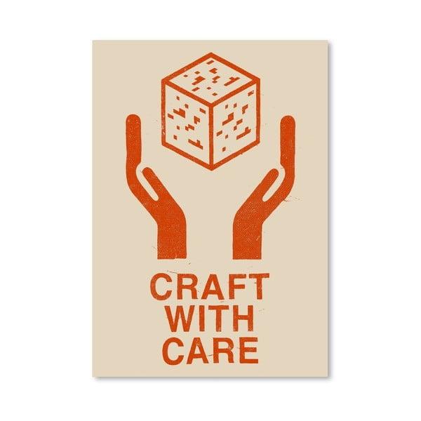 Plakát Craft With Care 1 od Florenta Bodart, 30x42 cm
