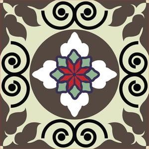 Samolepky Tile Art, grey, 4 ks