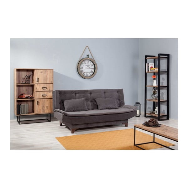 Canapea extensibilă Ersi, gri
