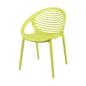Světle zelená židle Canett Elements