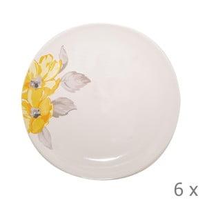 Set talířů Elise Floral, 26,5 cm, 6 ks