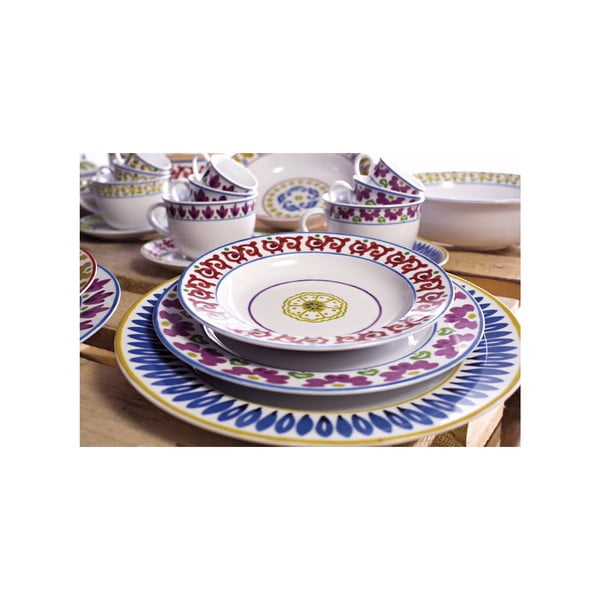 Sada 6 polévkových talířů Toscana Cortona, 22.5 cm