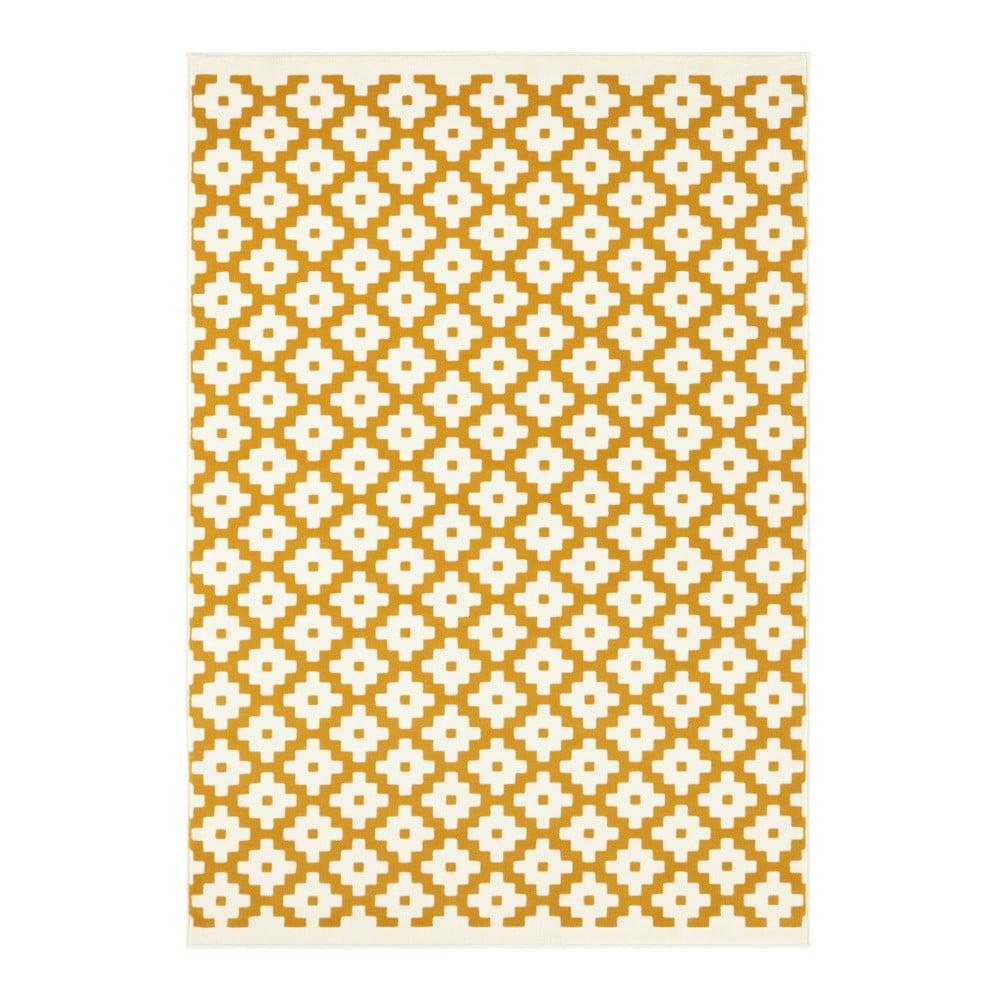 Produktové foto Žlutý koberec Hanse Home Celebration Raggo, 120 x 170 cm