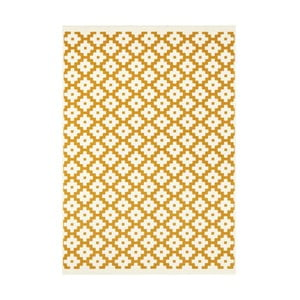 Žlutý koberec Hanse Home Celebration Raggo, 160 x 230 cm