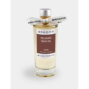 Koupelový olej s vůní jantaru a lilie Bahoma London, 200ml
