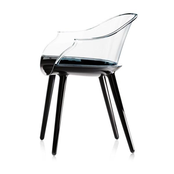 Černá jídelní židle Magis Cyborg