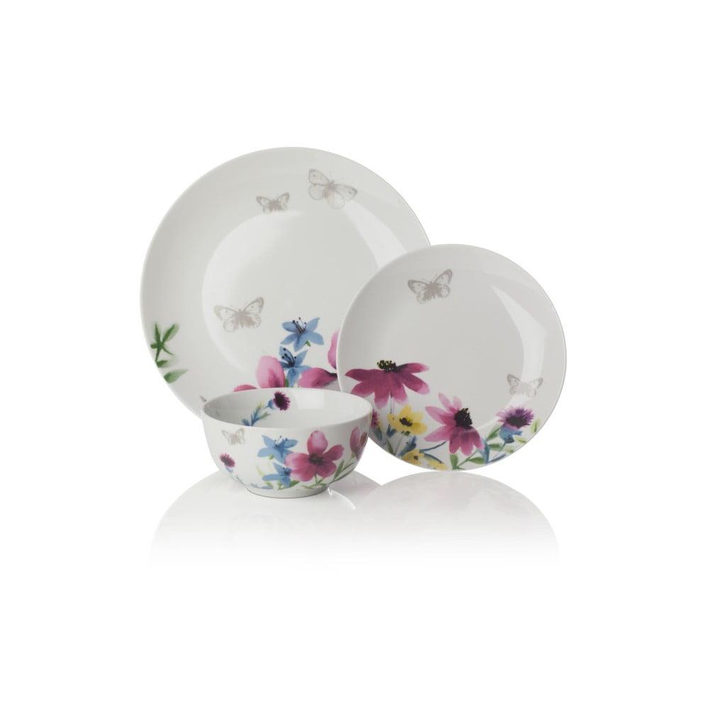 12dílná sada nádobí z porcelánu Sabichi Lydia